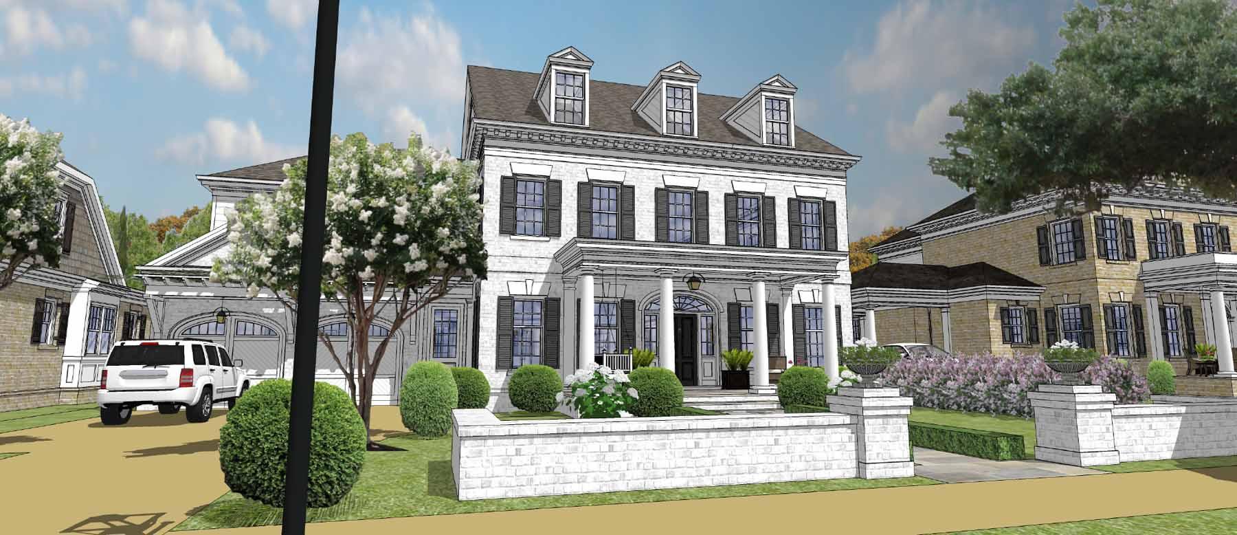 Nhà ở một gia đình vì Bán tại Premier Custom Built Gated Neighborhood in Downtown Alpharetta 2125 Canton View Alpharetta, Georgia, 30009 Hoa Kỳ