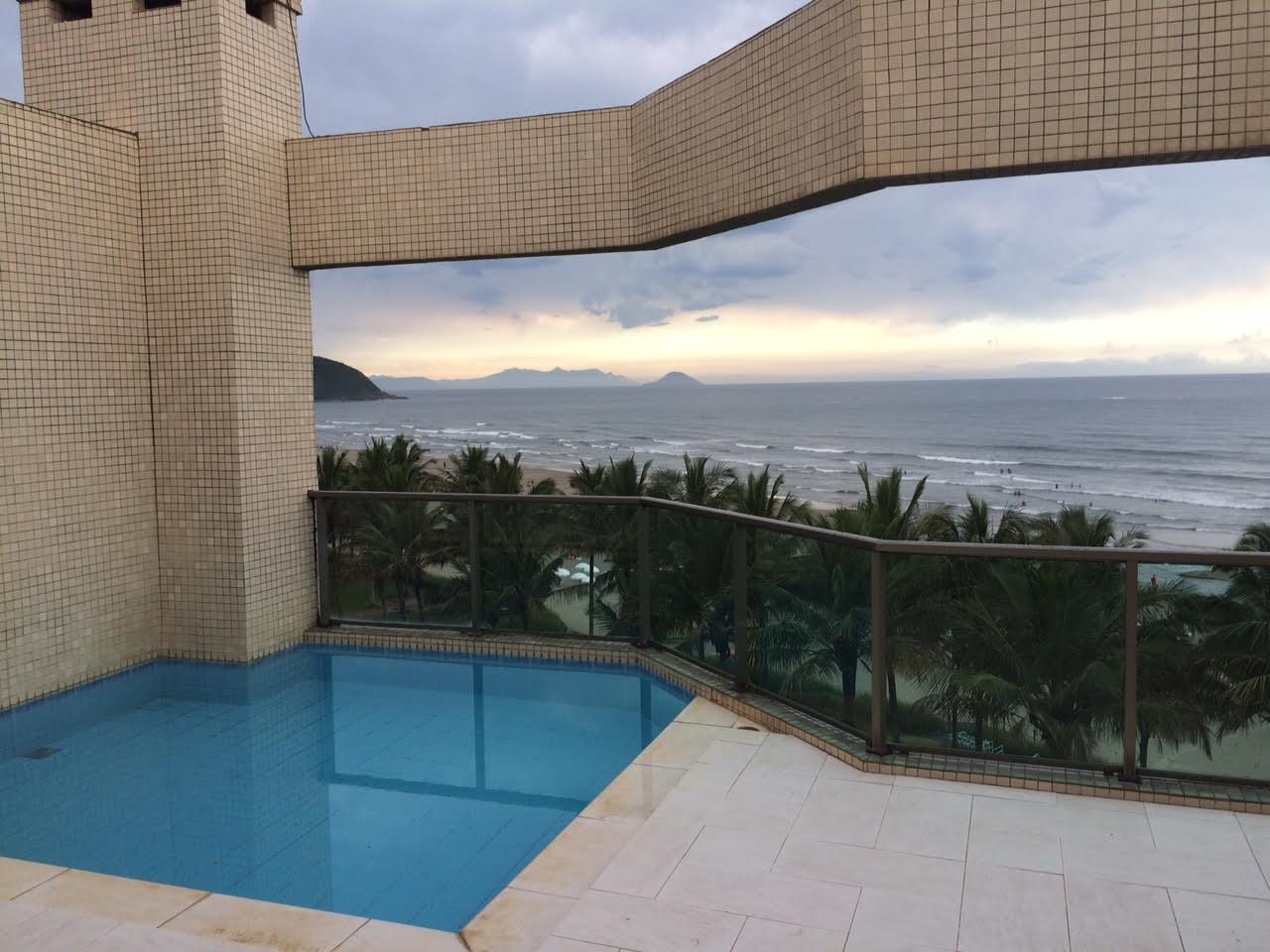 獨棟家庭住宅 為 出售 在 Seafront Duplex Passeio Do Maracá Bertioga, 聖保羅, 11250-000 巴西