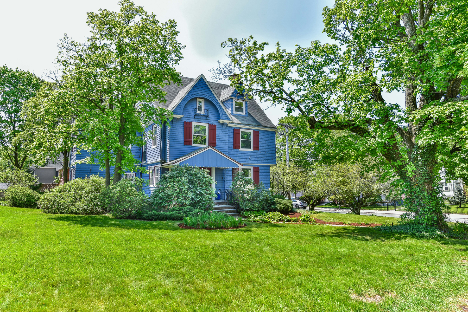 Single Family Home for Sale at Grand Shingle Style Colonial 281 Ashmont Street Boston, Massachusetts, 02124 United States