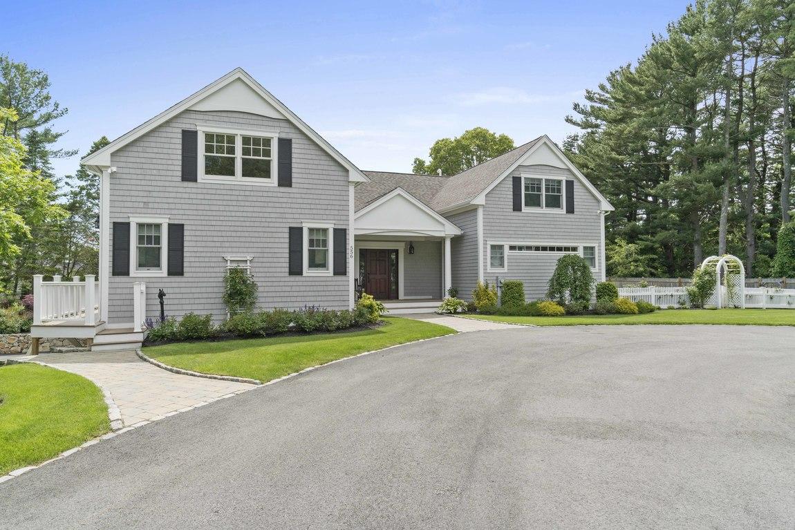 Частный односемейный дом для того Продажа на Waterview 556 Bay Rd Duxbury, Массачусетс, 02332 Соединенные Штаты