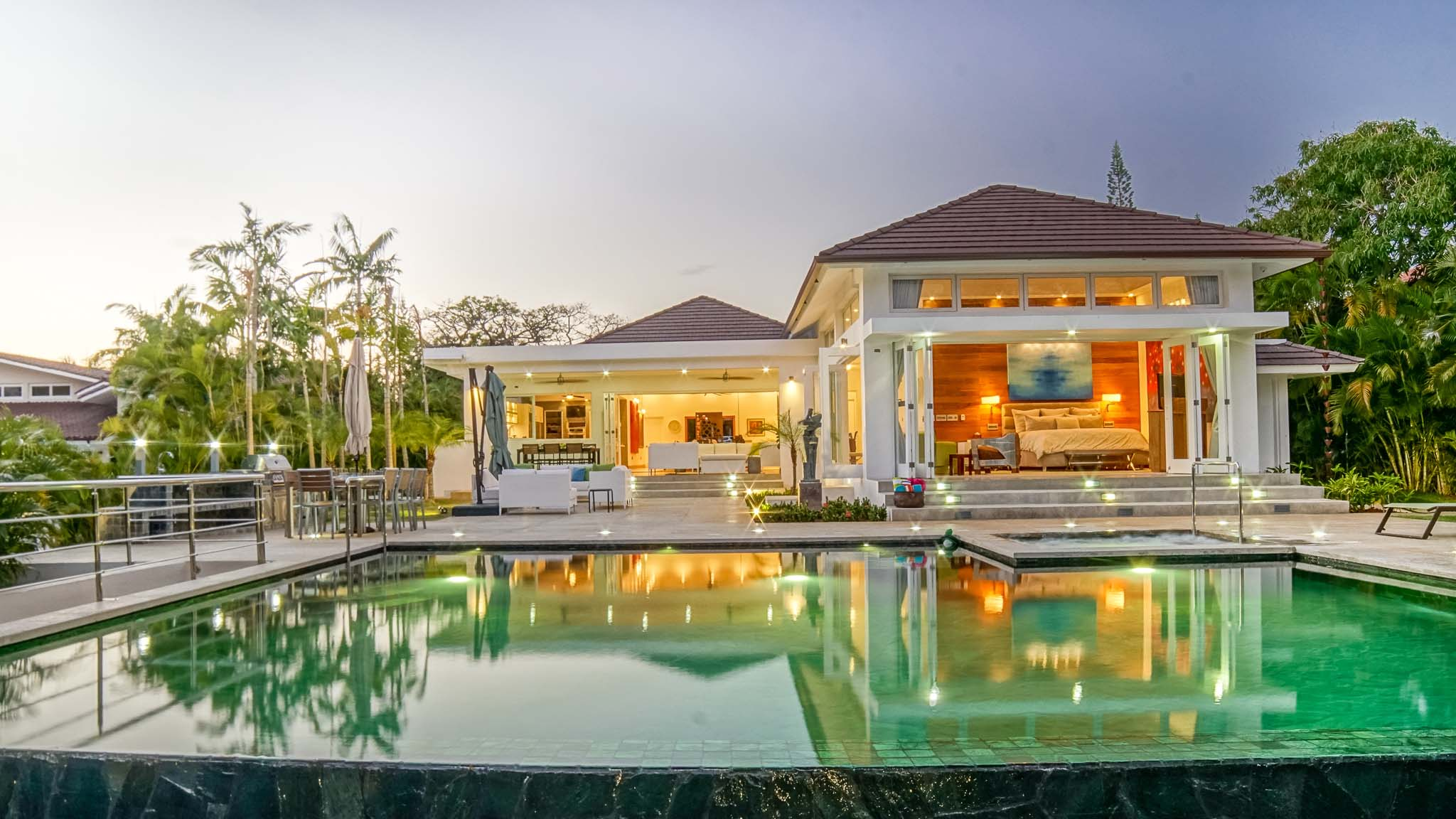 Single Family Home for Sale at Brand New, Magnificent & Modern Home with Elegance and Grace Casa De Campo, La Romana, Dominican Republic
