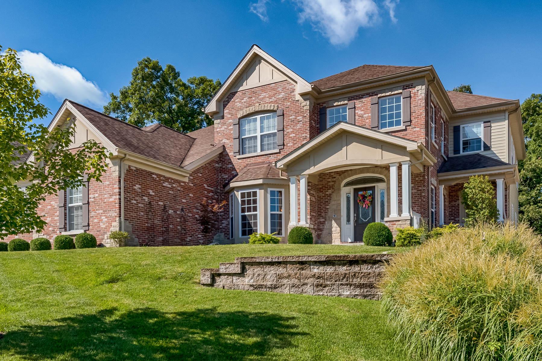 Casa para uma família para Venda às Woodcliff Heights 531 Woodcliff Heights Dr Wildwood, Missouri, 63011 Estados Unidos