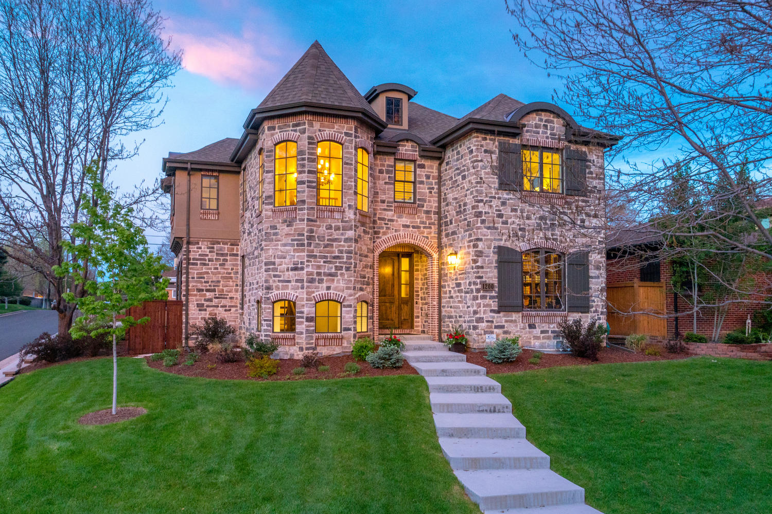 Single Family Home for Sale at Classically-Styled Custom Home on one of Cory-Merrill's Best Blocks 1200 S. Milwaukee Street Denver, Colorado, 80210 United States