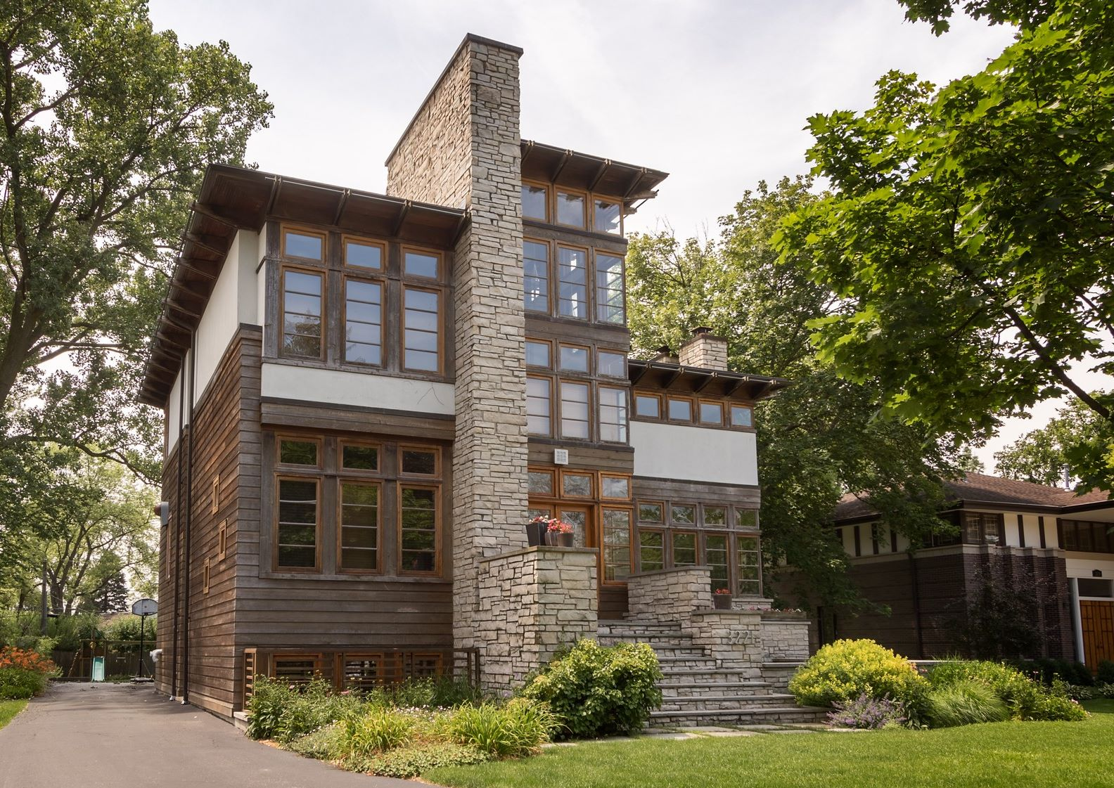 Vivienda unifamiliar por un Venta en One of a Kind, Contemporary Wilmette Home 3221 Wilmette Avenue, Wilmette, Illinois, 60091 Estados Unidos