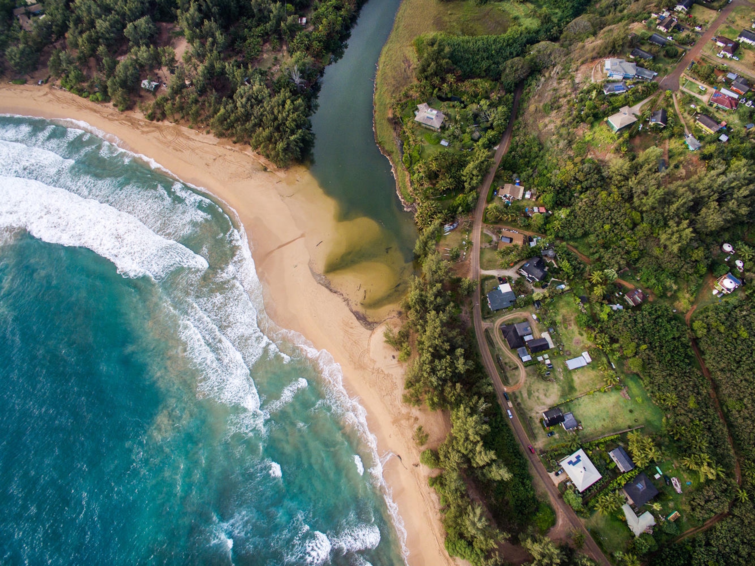 Nhà ở một gia đình vì Bán tại Beautiful Anahola Beachside Estate 4695 Aliomanu Road Anahola, Hawaii, 96703 Hoa Kỳ