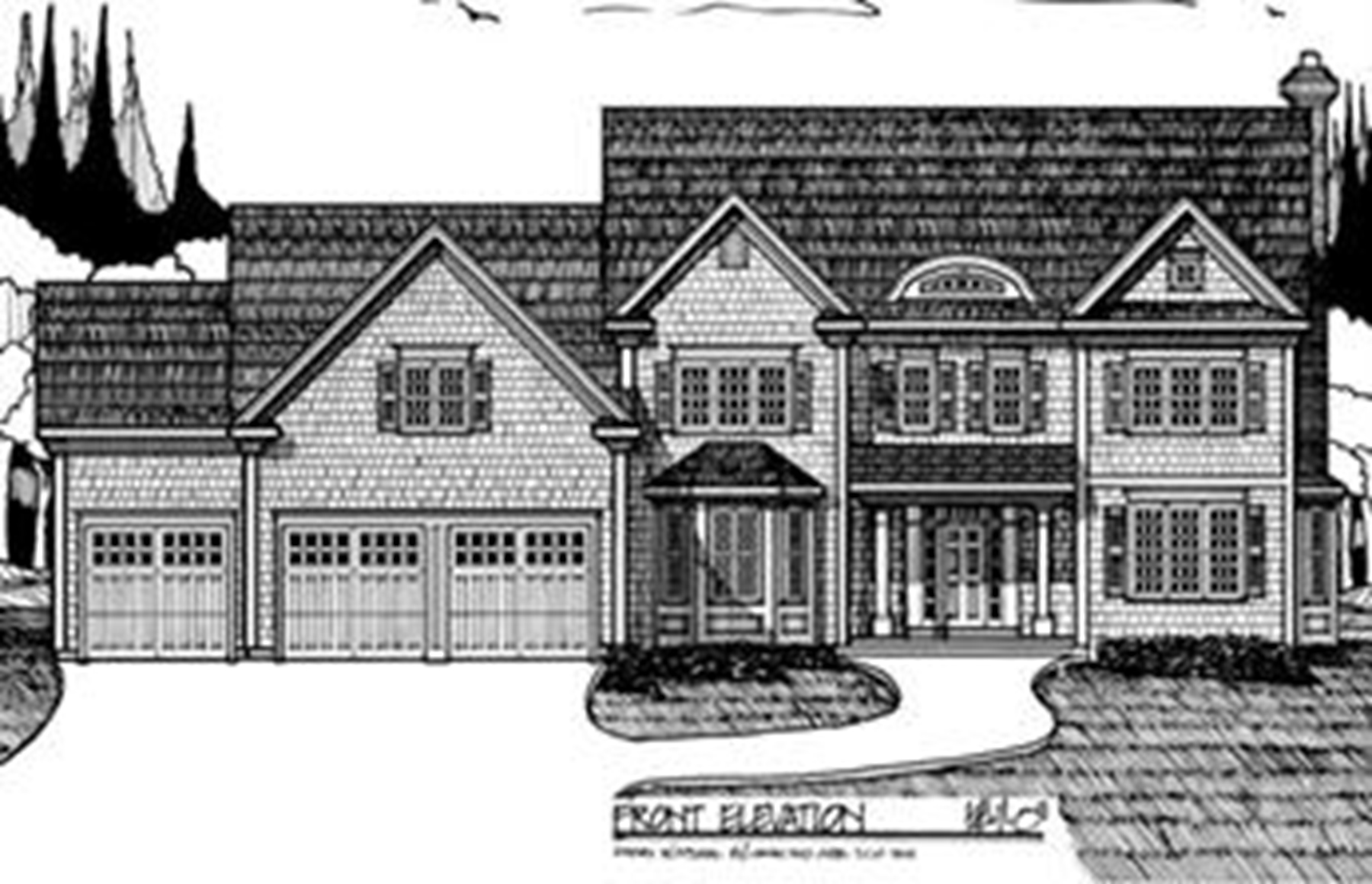 Single Family Home for Sale at Highland Park New Construction Lot 18 Stoney Brook Road Hopkinton, Massachusetts 01748 United States