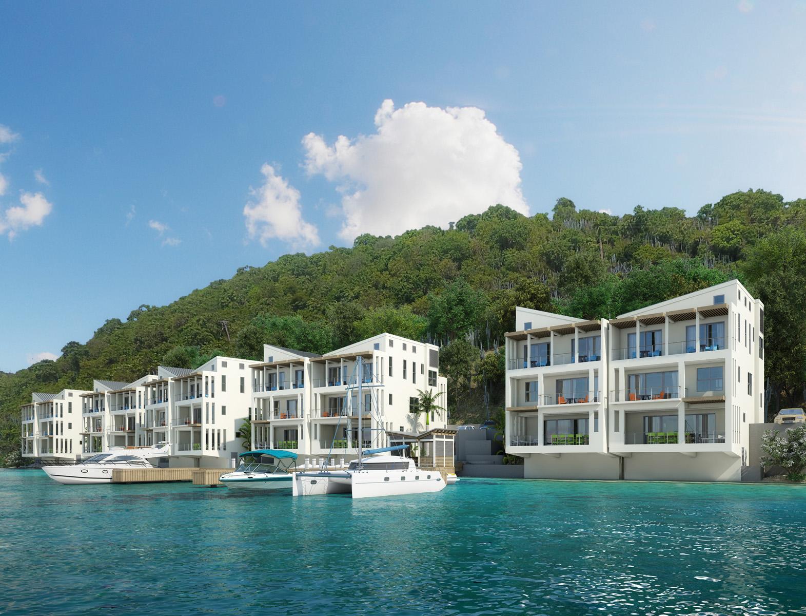 Copropriété pour l Vente à Brandywine Bay Oceanfront Condos Other Tortola, Tortola Iles Vierges Britanniques