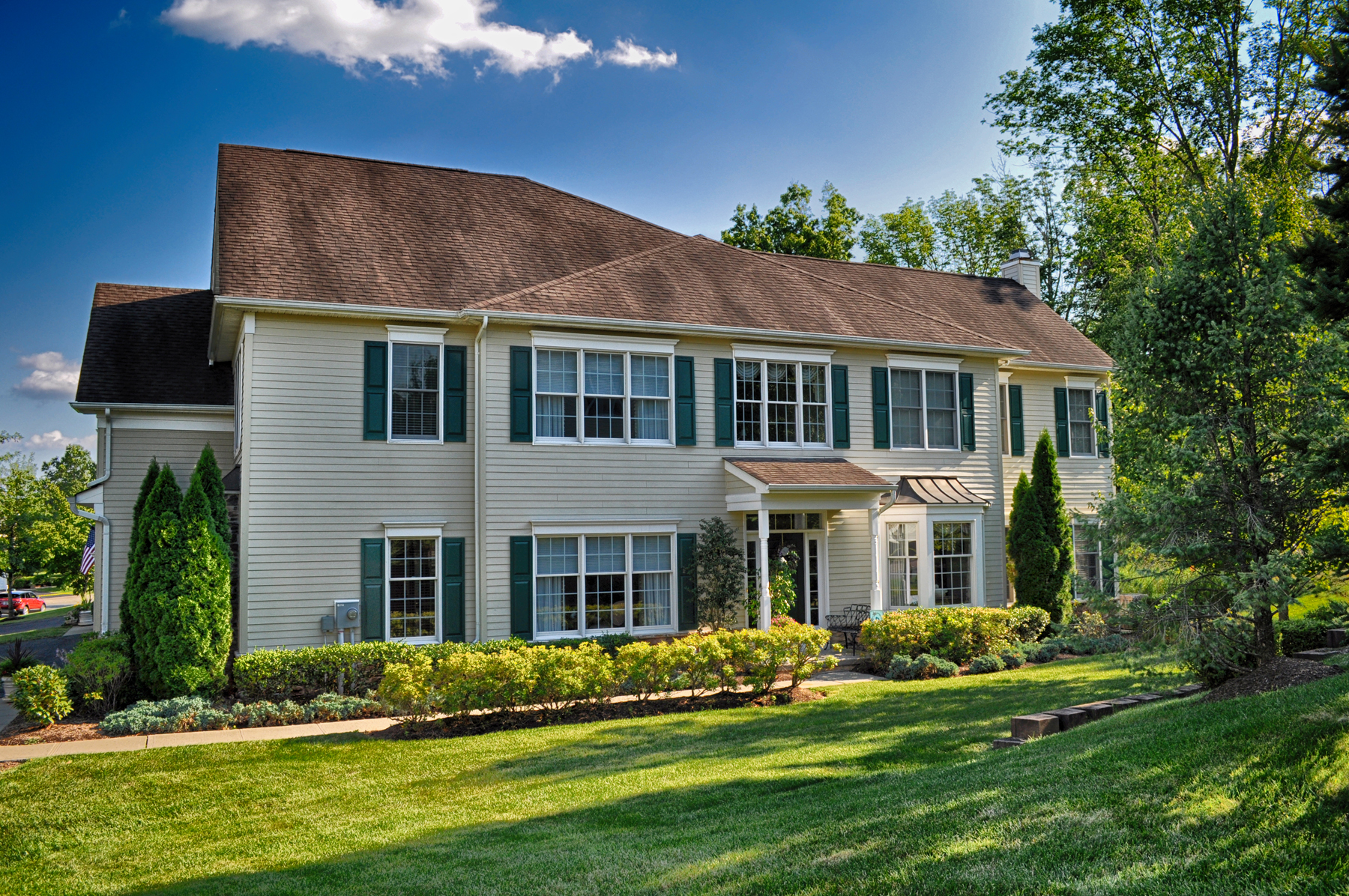 Townhouse for Sale at Elegant Carriage Style Townhome 1504 Farley Road Tewksbury Township, New Jersey 08889 United States