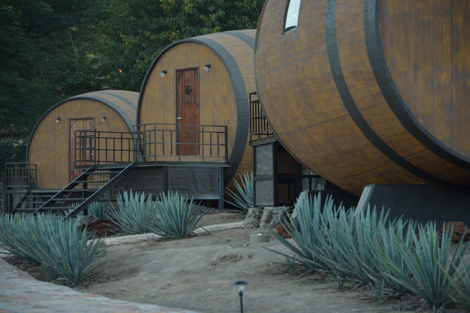 Hacienda de Barricas en La Cofradia, Tequila, Jalisco, Aged DBL Room