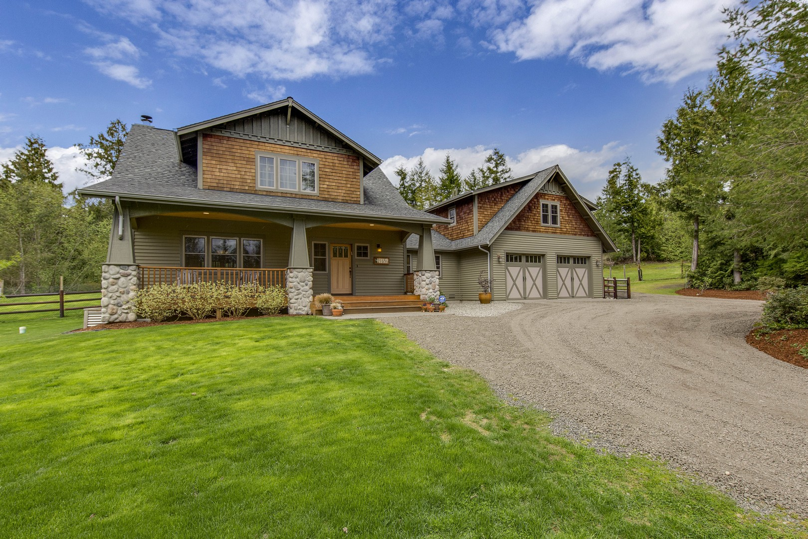 Single Family Home for Sale at Craftsman Farm Charm 21656 Big Valley Rd NE Poulsbo, Washington 98370 United States