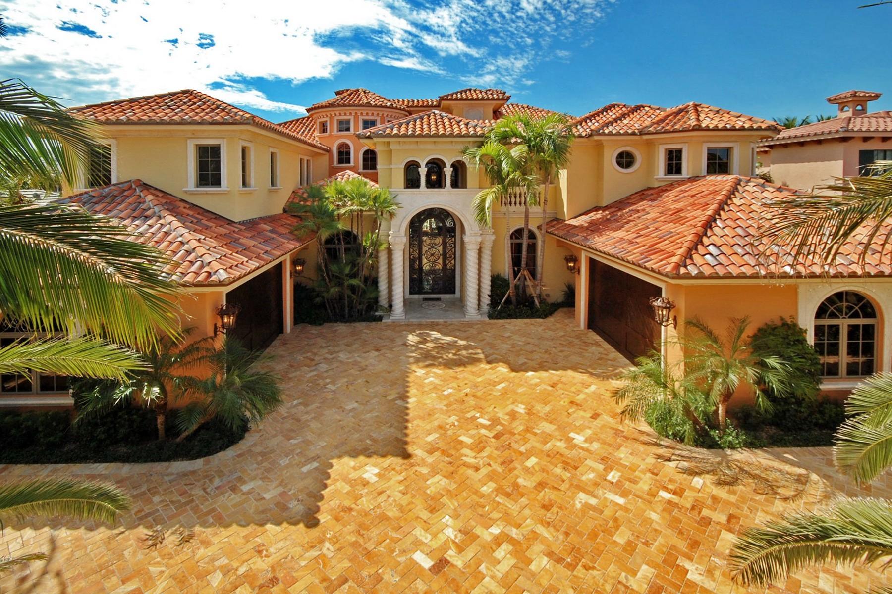 Maison unifamiliale pour l Vente à 299 NE Spanish Trl , Boca Raton, FL 33432 Boca Raton, Florida 33432 États-Unis