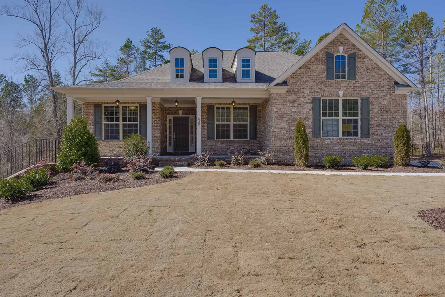 Single Family Home for Sale at New Construction Ranch Plan Exudes Quality! 2510 Maple Ridge Lane Cumming, Georgia, 30041 United States