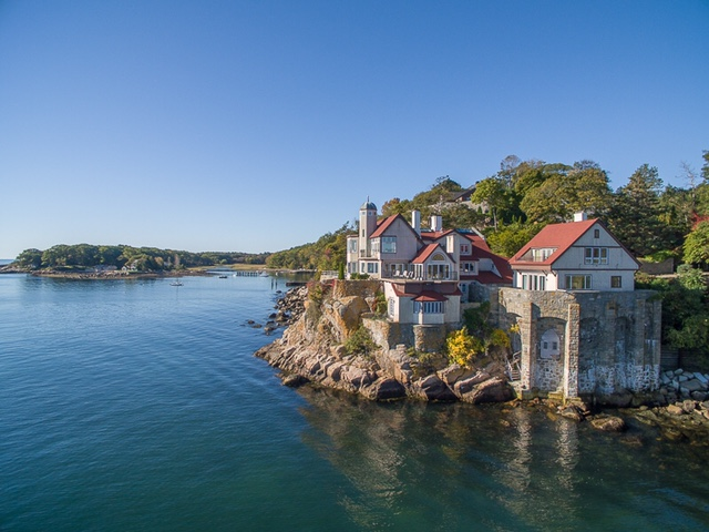 Single Family Home for Sale at Exquisite Historic Seaside Estate 160 Western Avenue Gloucester, Massachusetts 01930 United States