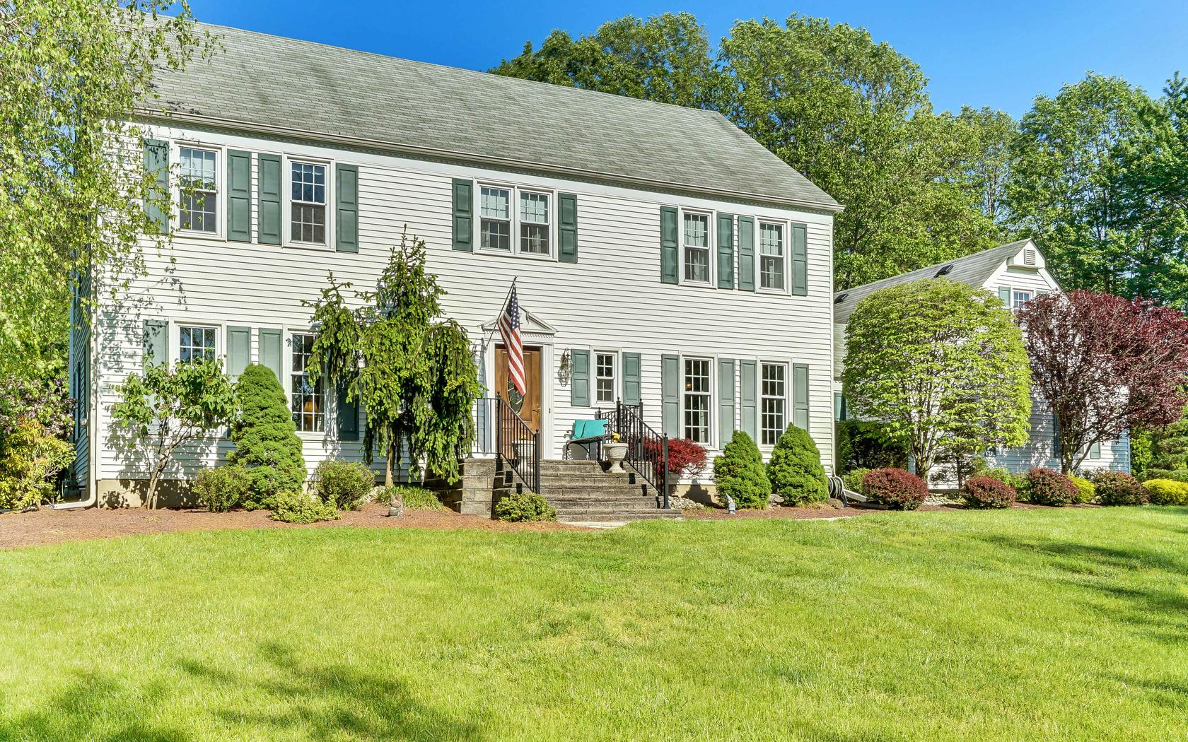 Single Family Home for Sale at Traditional Center Hall Colonial 21 Cindy Lane Holmdel, New Jersey, 07733 United States