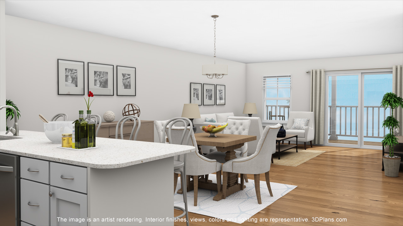 Additional photo for property listing at New Construction Luxury Living on the Northshore 441 Essex Street Unit 205E Swampscott, Massachusetts 01907 United States
