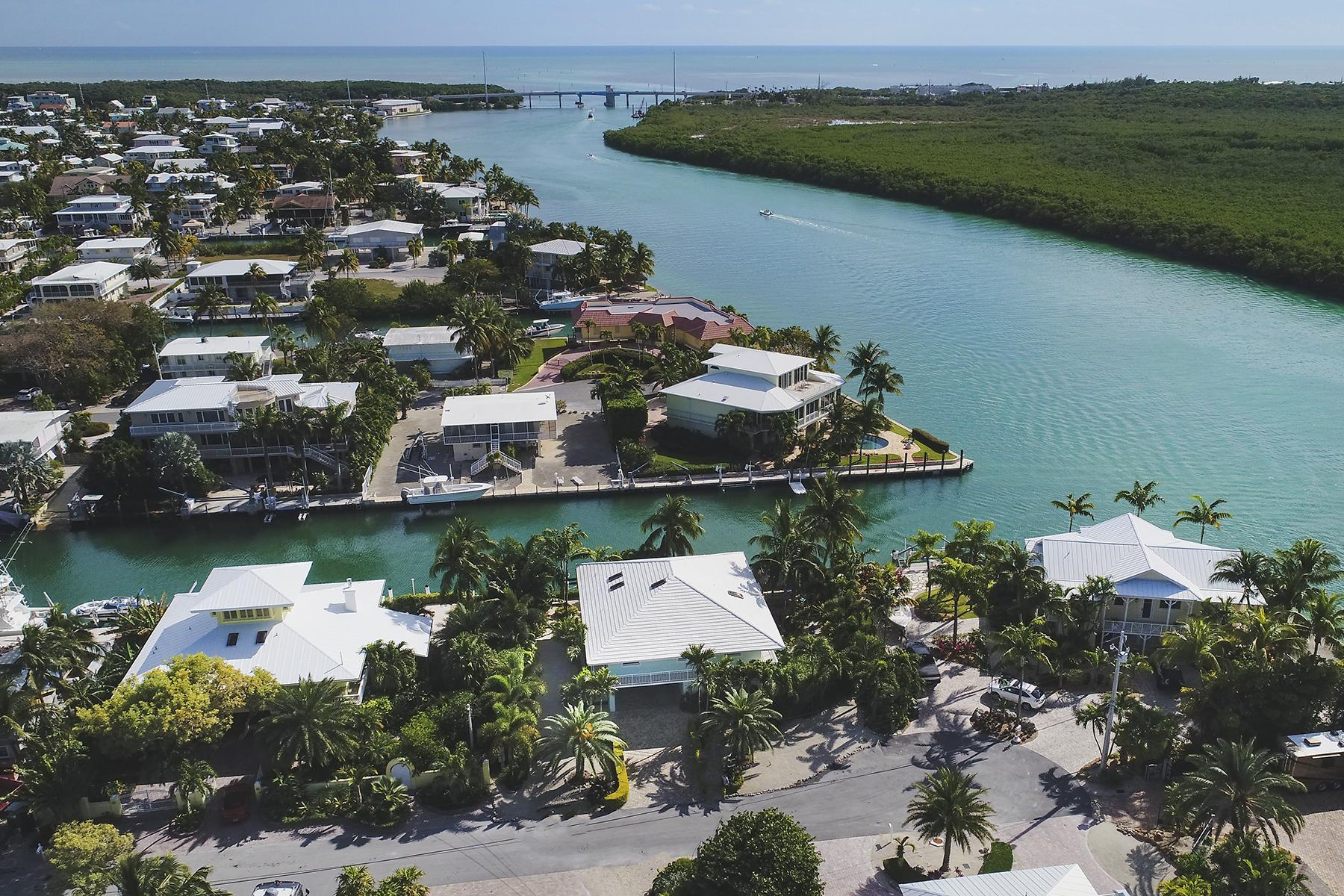 獨棟家庭住宅 為 出售 在 Exclusive Waterfront Location 152 Severino Drive Florida Keys, Islamorada, 佛羅里達州, 33036 美國