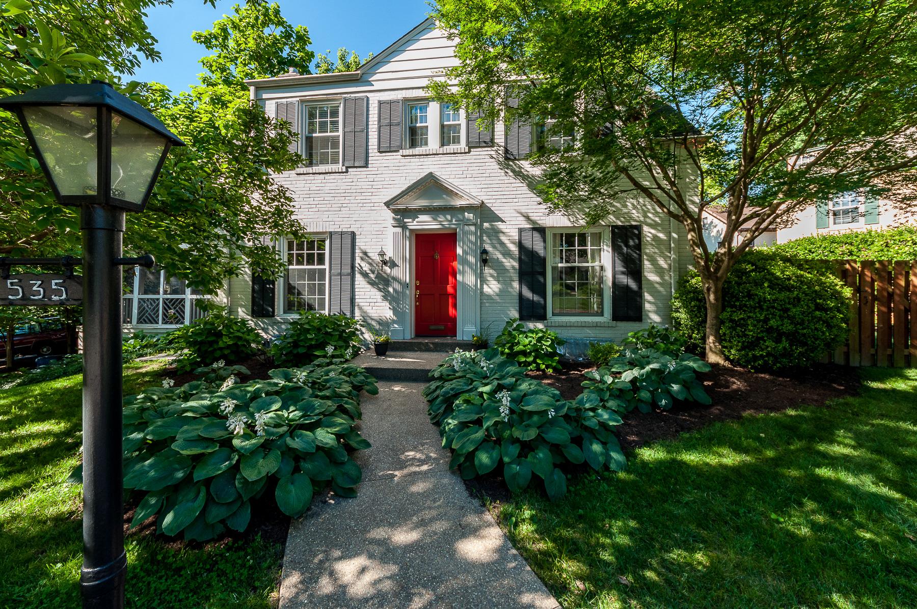 Maison unifamiliale pour l Vente à East Deive 535 East Drive University City, Missouri, 63130 États-Unis