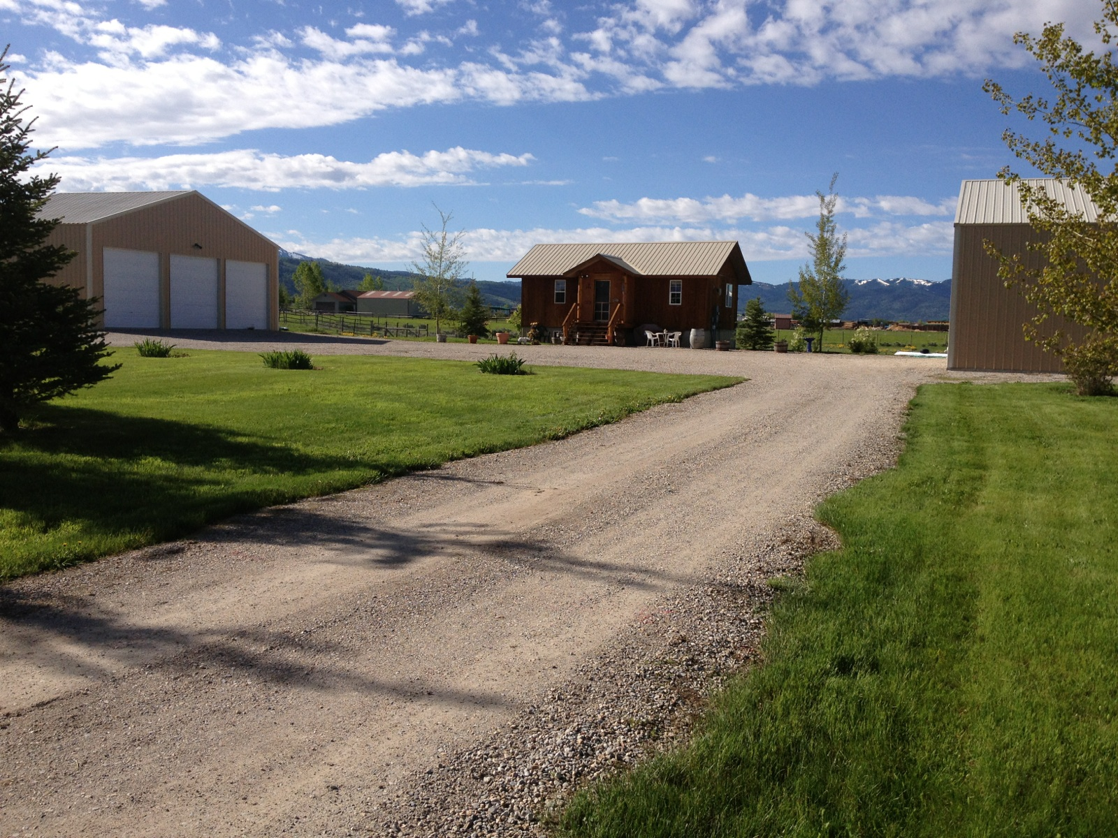 Single Family Home for Sale at Victor Home with 6 Garage Bays, No CCR's 593 JACKALOPE WAY Victor, Idaho, 83455 Jackson Hole, United States