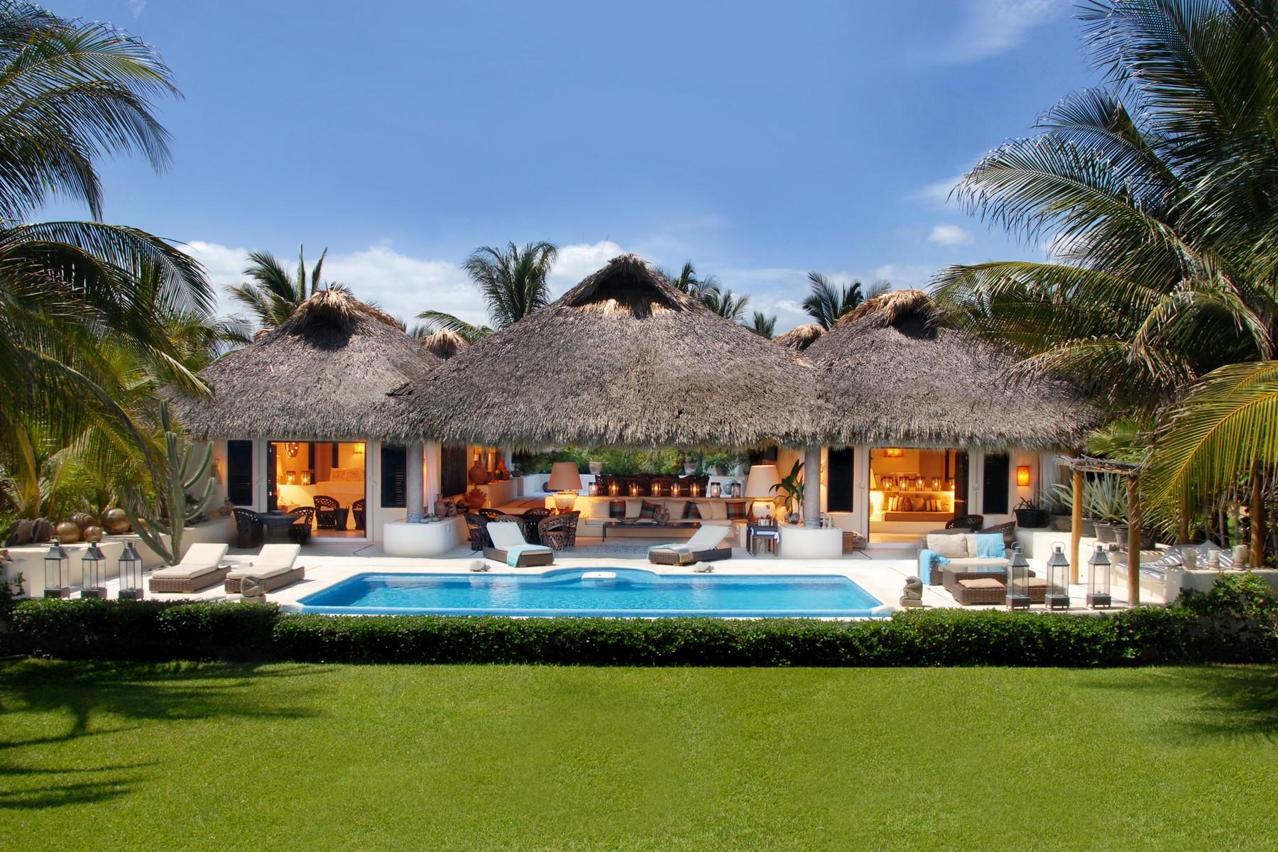 Luxury Oceanfront Villa, Puerto Escondido, Oaxaca