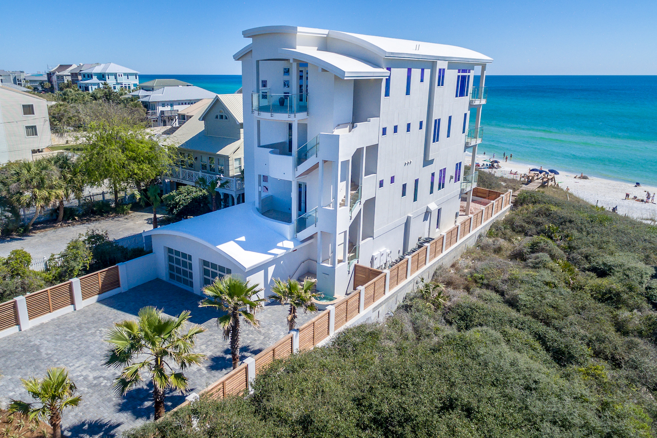 Single Family Home for Sale at CONTEMPORARY GULF FRONT OASIS SEA LA VIE 8858 East County Highway 30A Seacrest, Seacrest, Florida, 32461 United States