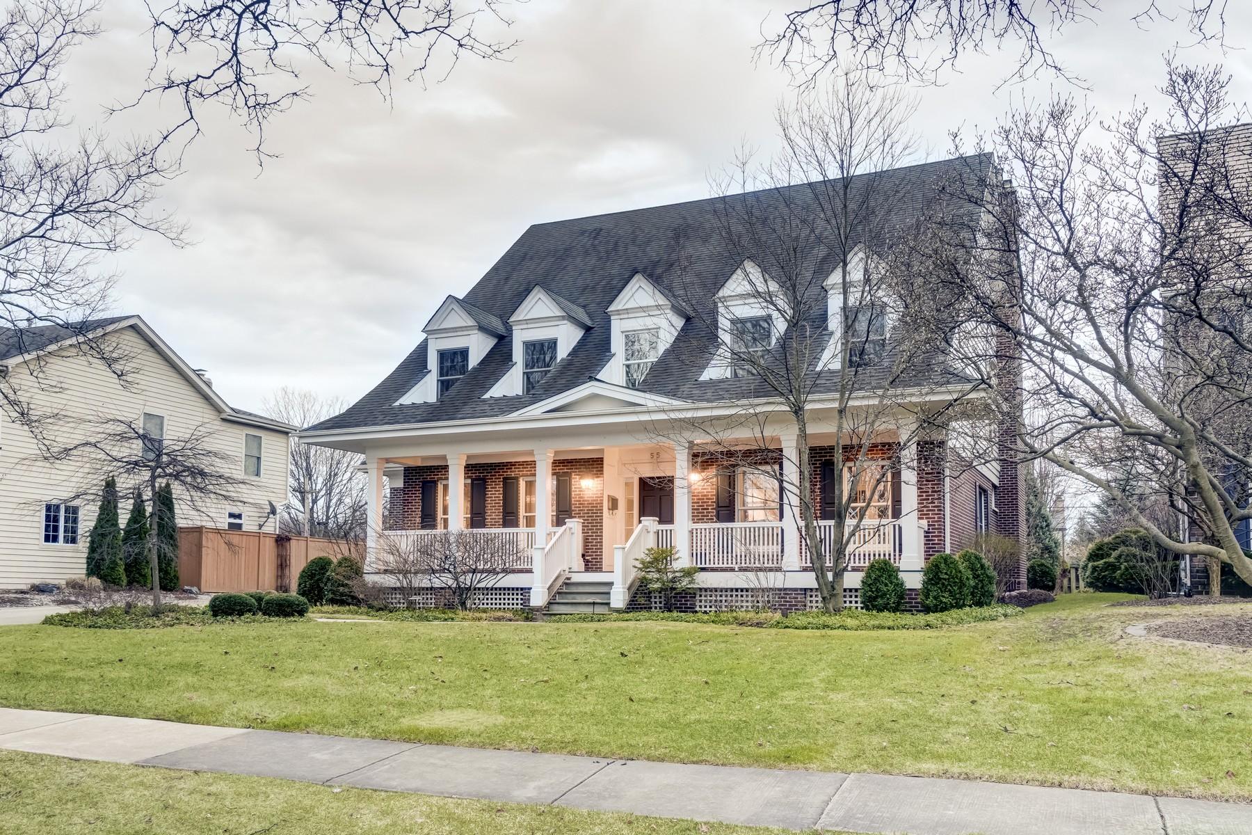Tek Ailelik Ev için Satış at 55 Bonnie Lane Clarendon Hills, Illinois, 60521 Amerika Birleşik Devletleri