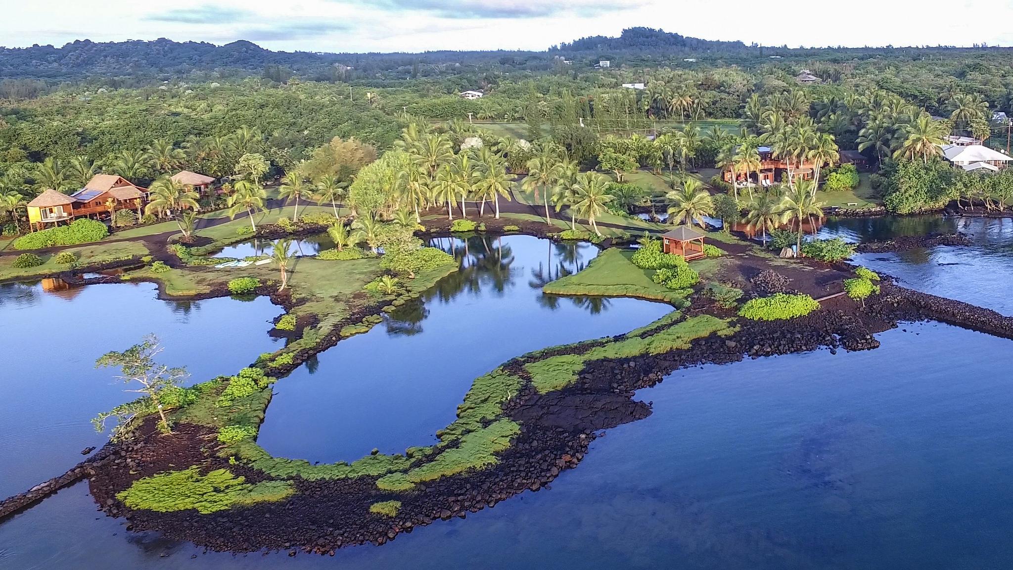 Casa para uma família para Venda às Kapoho Bay Oceanfront 14-4934 Laimana Rd. Pahoa, Havaí, 96778 Estados Unidos