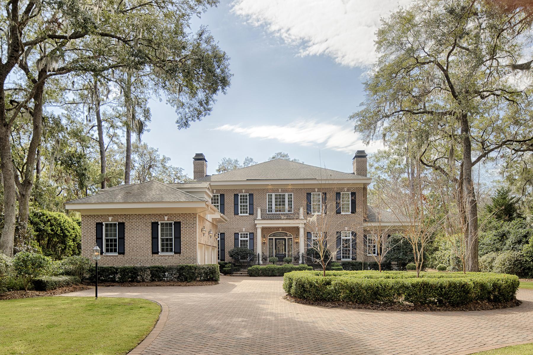 Частный односемейный дом для того Продажа на 21 Tidewater Way Skidaway Island, Джорджия, 31411 Соединенные Штаты
