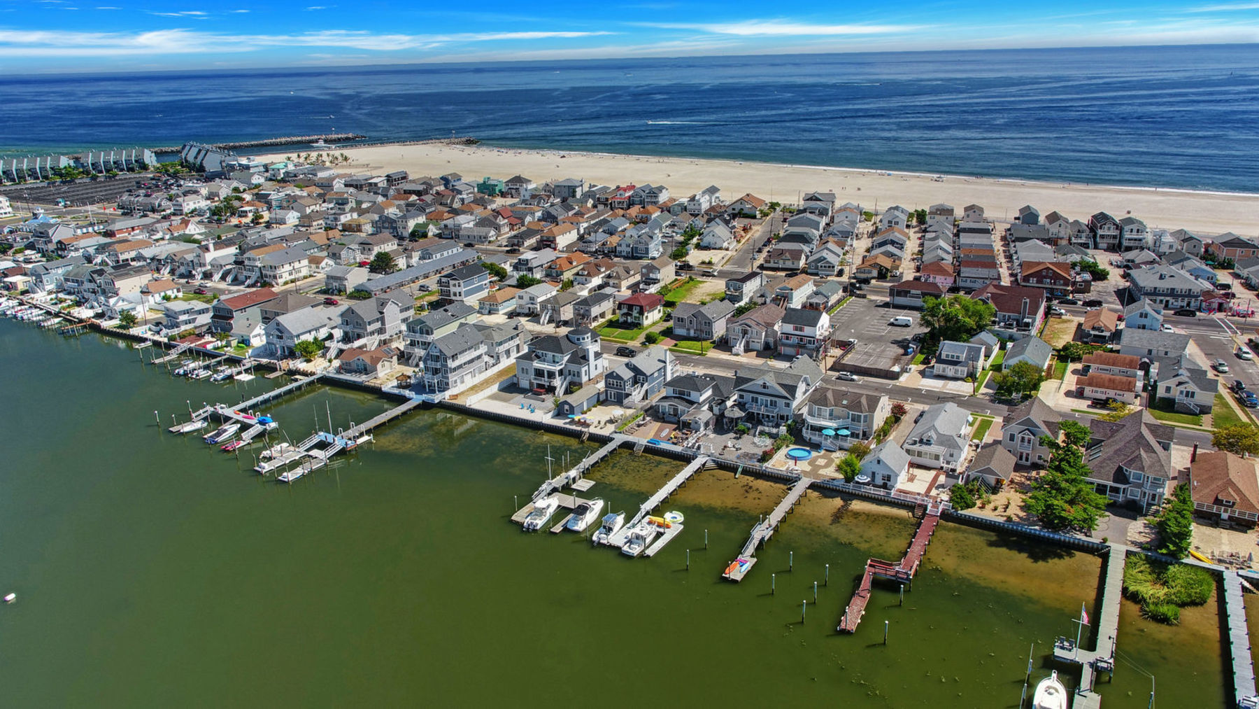 Single Family Home for Sale at Waterfront Property 203 Randall Avenue, Point Pleasant Beach, New Jersey 08742 United States