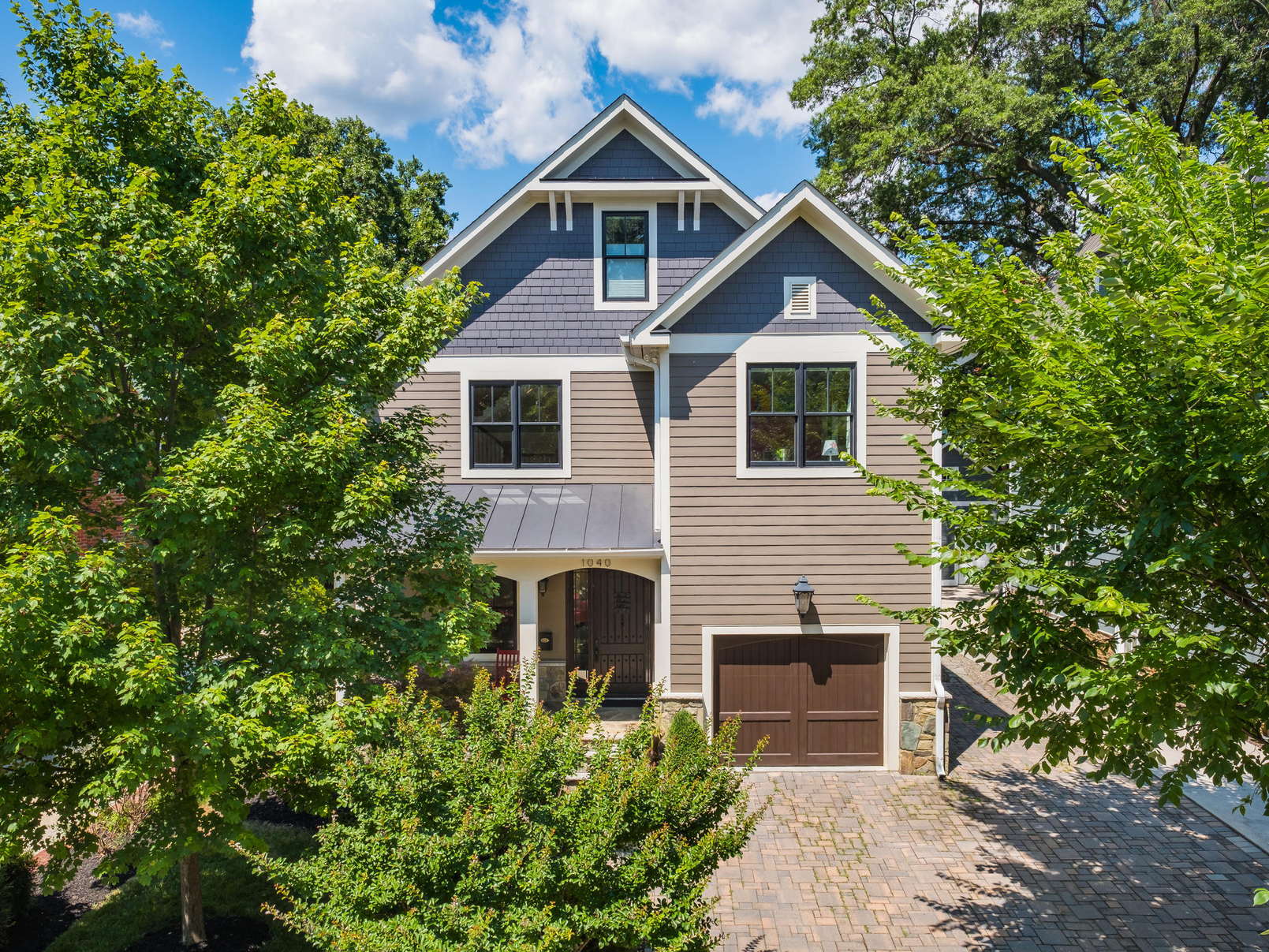 Single Family Home for Sale at Handsome Custom-built in Heart of Clarendon 1040 Edgewood St N Arlington, Virginia 22201 United States