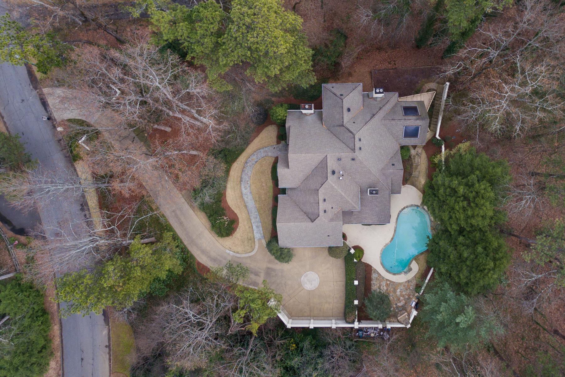一戸建て のために 売買 アット Elegant Entertaining Home 3750 Cloudland Drive NW Buckhead, Atlanta, ジョージア, 30327 アメリカ合衆国