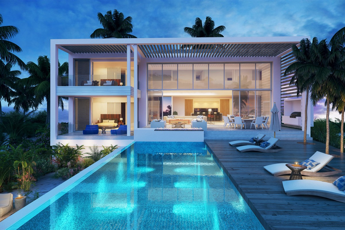 Single Family Home for Sale at BEACH ENCLAVE GRACE BAY Design C Oceanview Grace Bay, TCI Turks And Caicos Islands