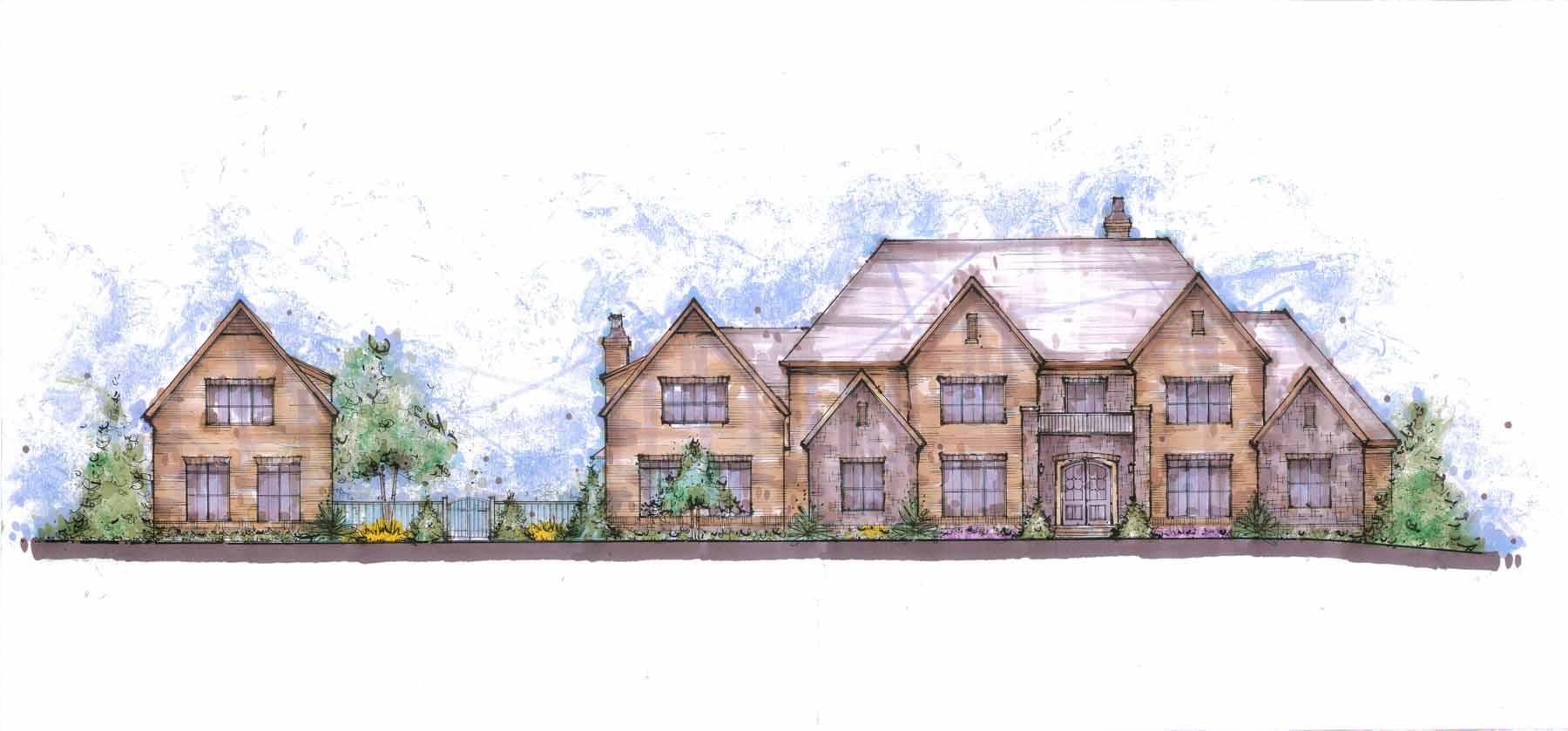 Enfamiljshus för Försäljning vid The Estate on Francis 0000 Francis Road Milton, Georgien 30004 Usa