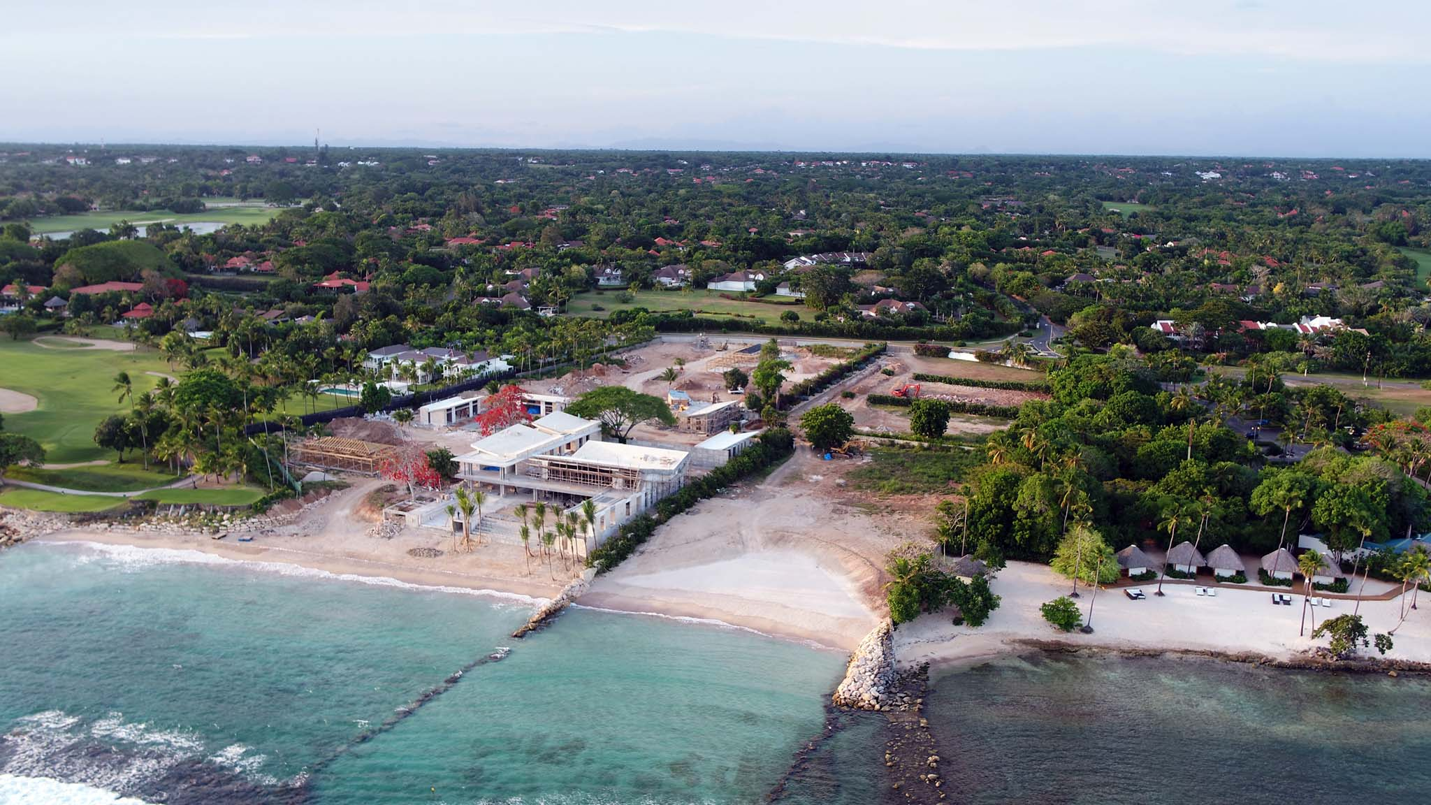 Land for Sale at Sprawling Oceanfront home site with Private Beach Casa De Campo, La Romana, Dominican Republic