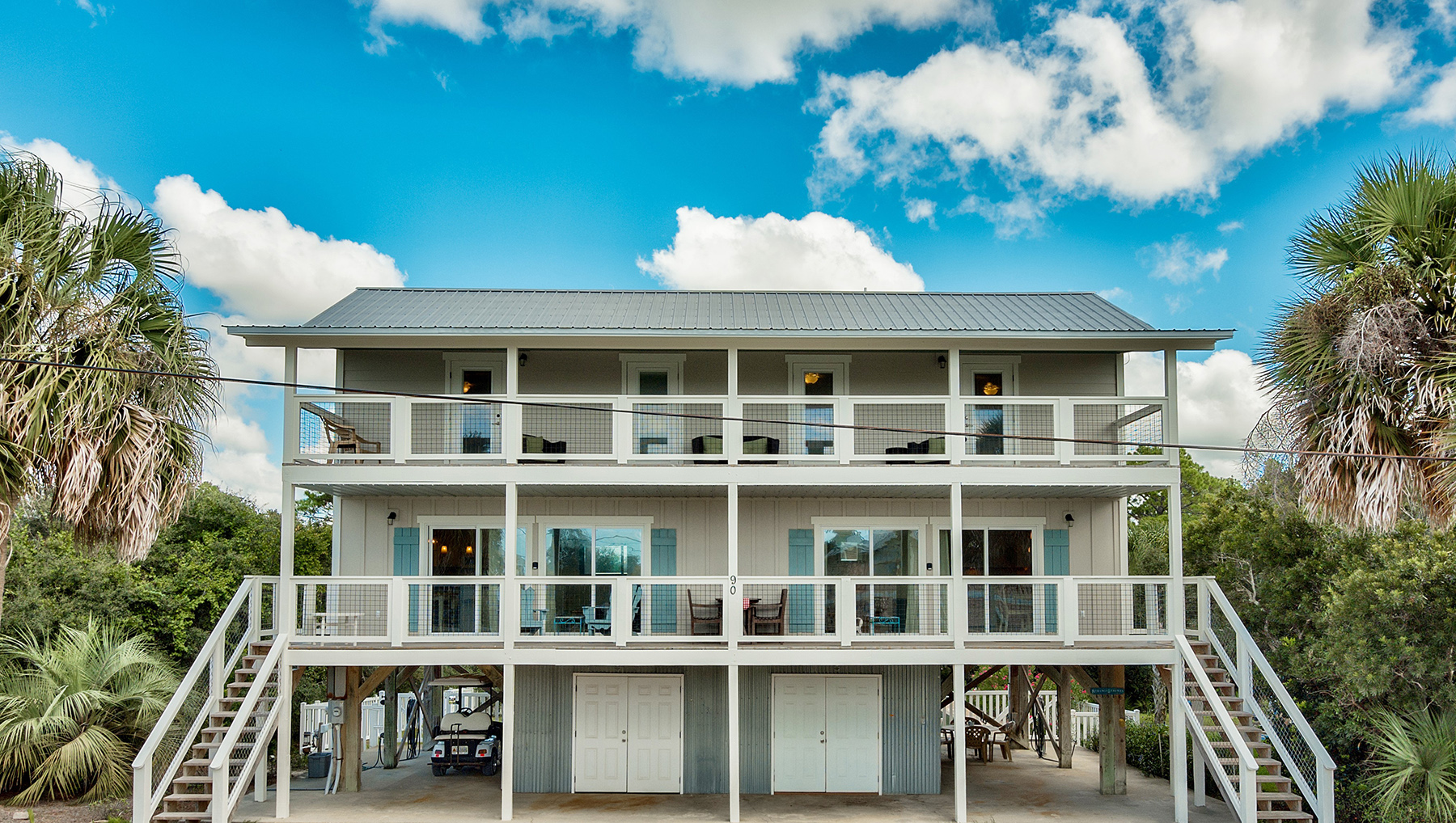 Частный односемейный дом для того Продажа на Gulf View Duplex in the Heart of Seagrove Beach 90 Birmingham Street, Santa Rosa Beach, Флорида, 32459 Соединенные Штаты