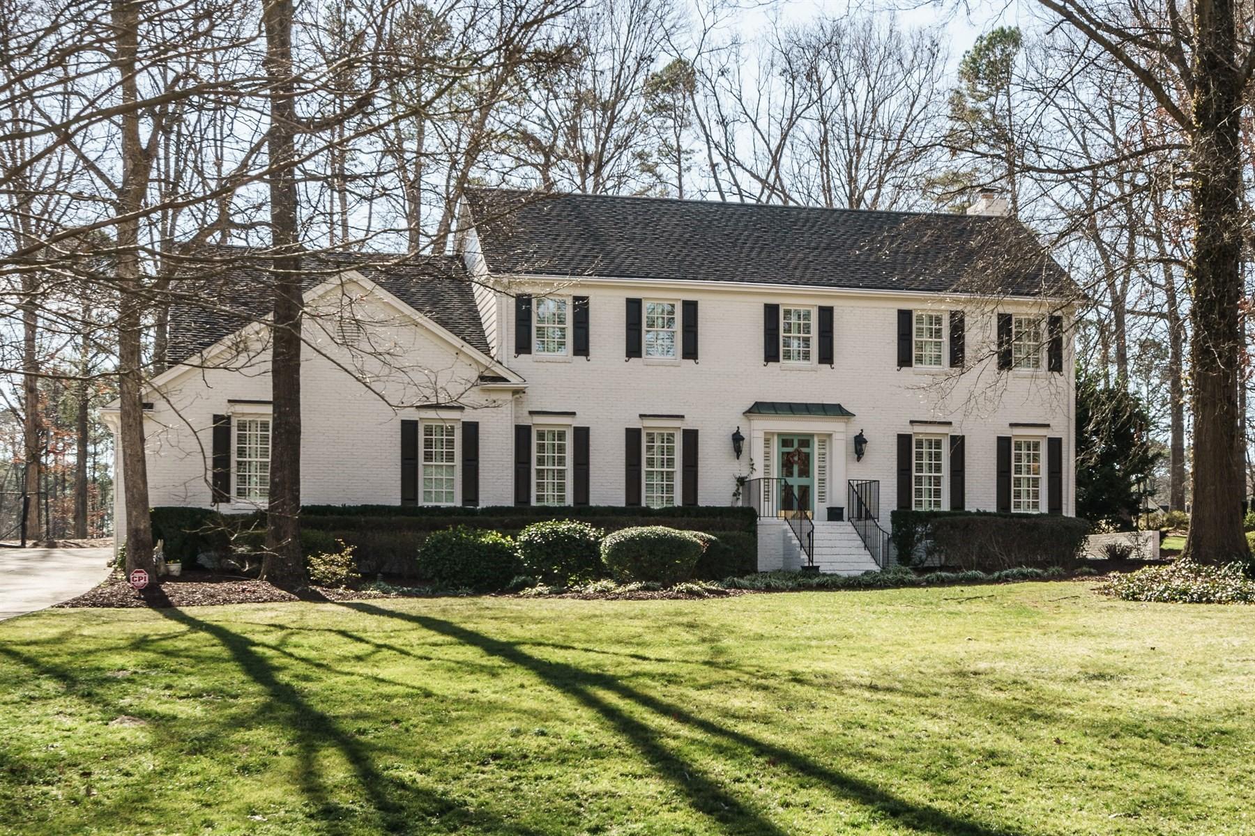 단독 가정 주택 용 매매 에 North Ridge Estate 7116 North Ridge Drive Raleigh, 노스캐놀라이나, 27615 미국에서/약: Cary, Durham, Chapel Hill