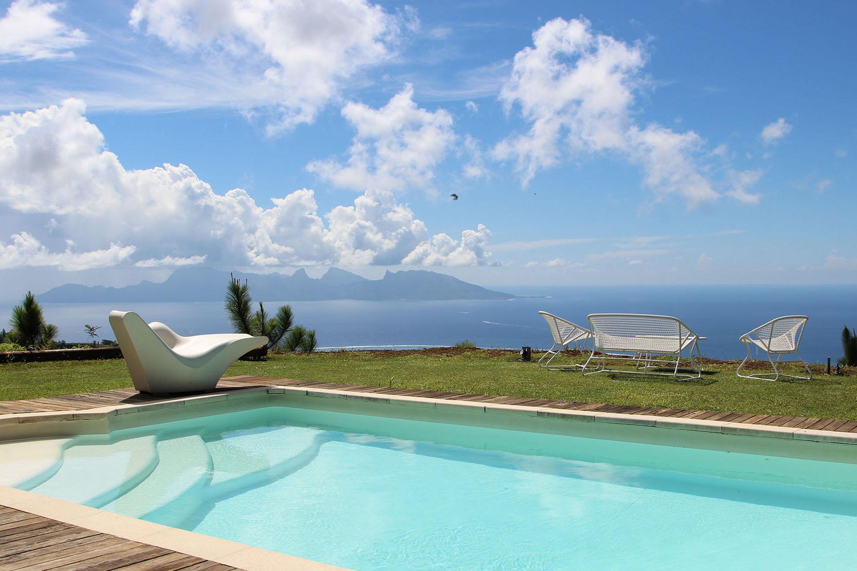 واحد منزل الأسرة للـ Sale في family home with a breathtaking view Tahiti, French Polynesia