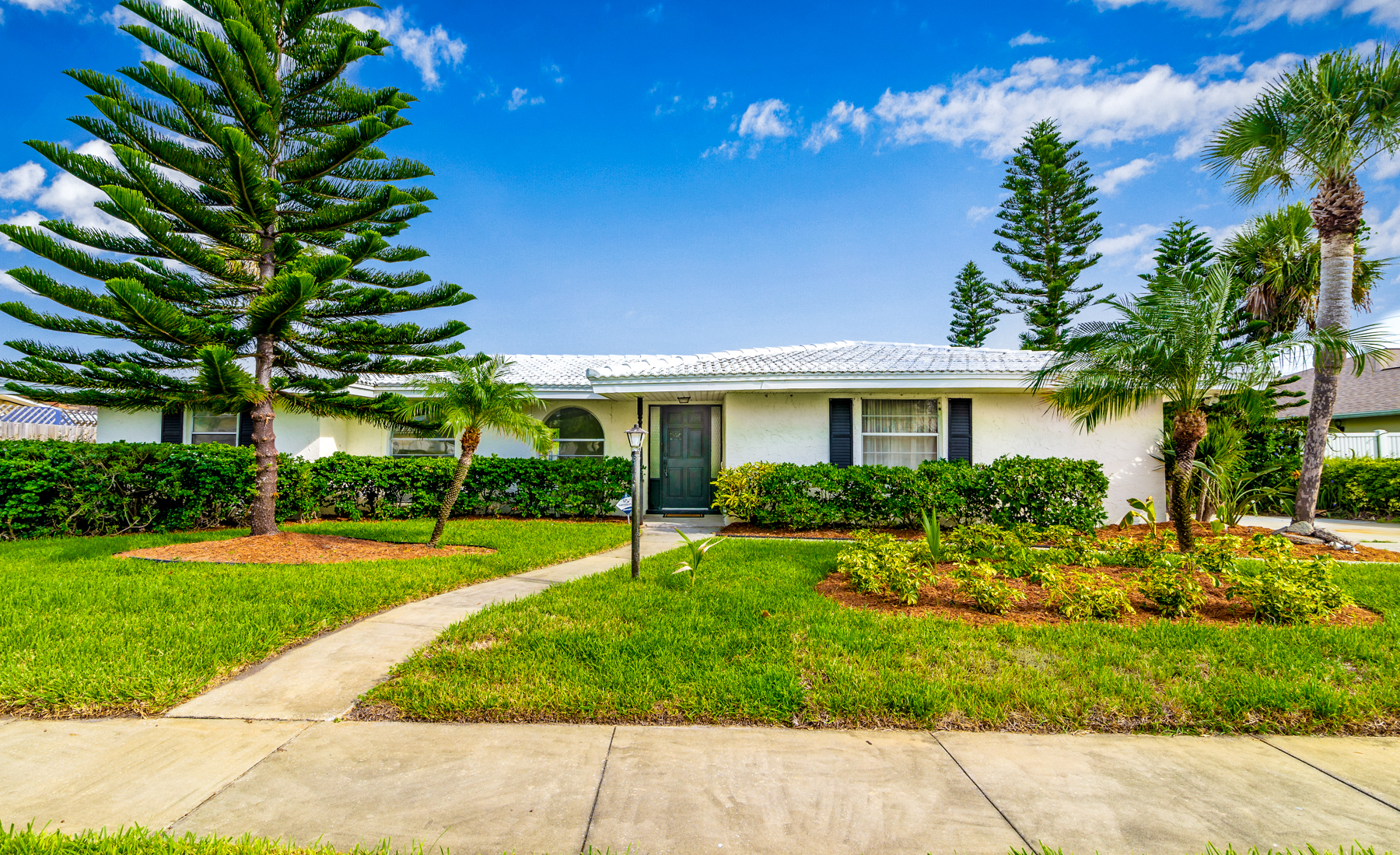 Single Family Home for Sale at Canal Front Pool Home in Westview Estates 706 Brookside Drive Indialantic, Florida 32903 United States