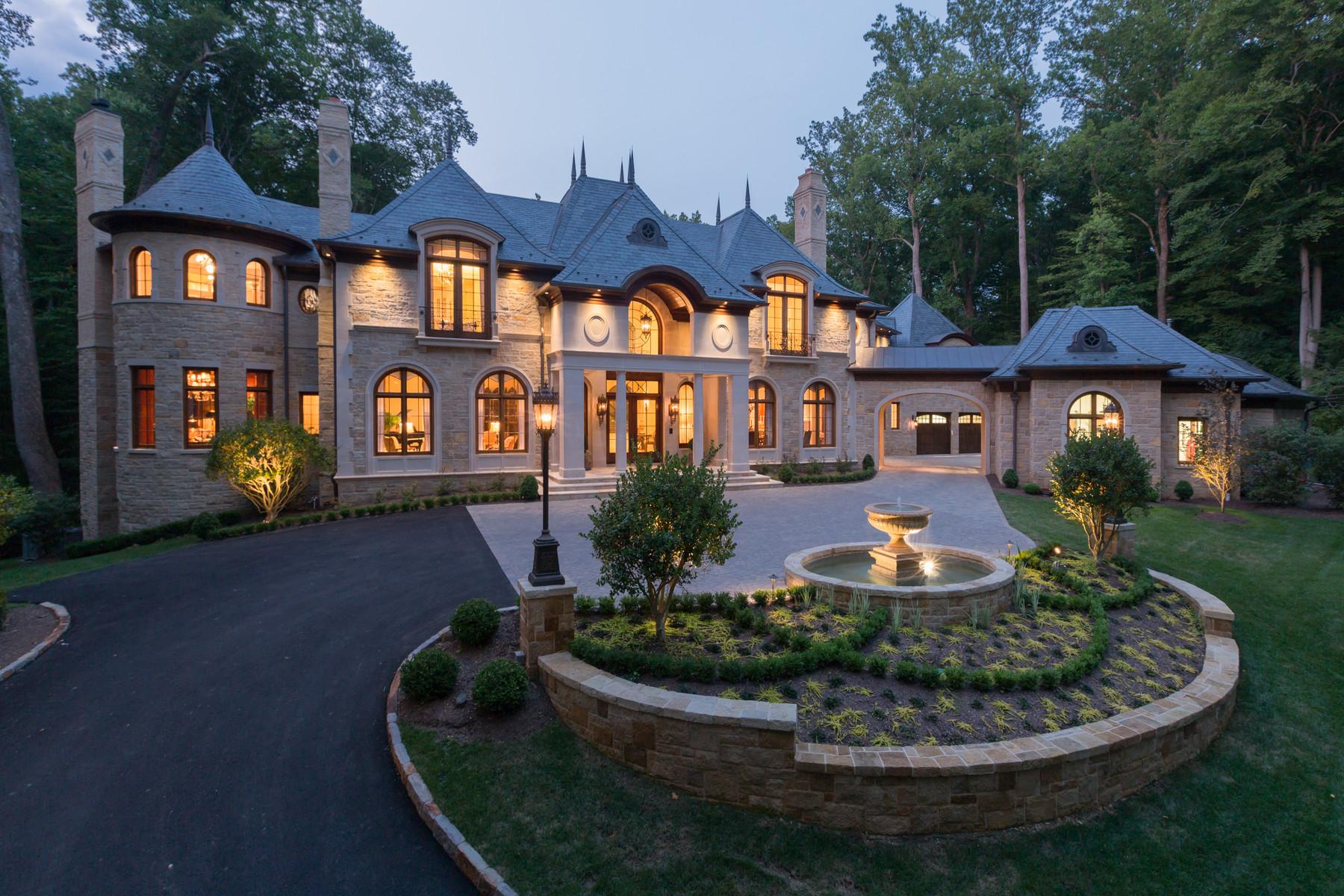 Частный односемейный дом для того Продажа на 801 Turkey Run Rd. McLean VA McLean, Виргиния 22101 Соединенные Штаты