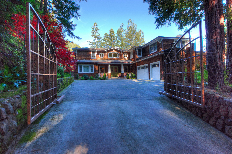 Casa Unifamiliar por un Venta en Luxury Resort Living on 8 Acres in Kent Woodlands 8 Woodland Place Kentfield, California 94904 Estados Unidos
