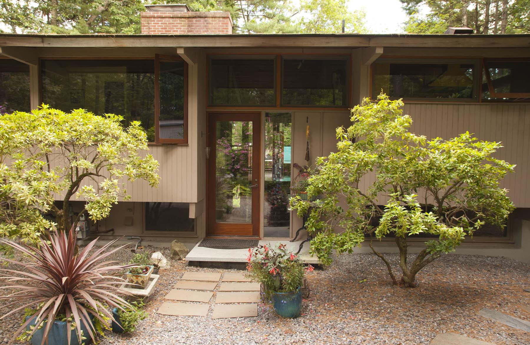 Single Family Home for Sale at Classic mid-century modern Deck home sited atop of a hill 101 Loker St Wayland, Massachusetts 01778 United States