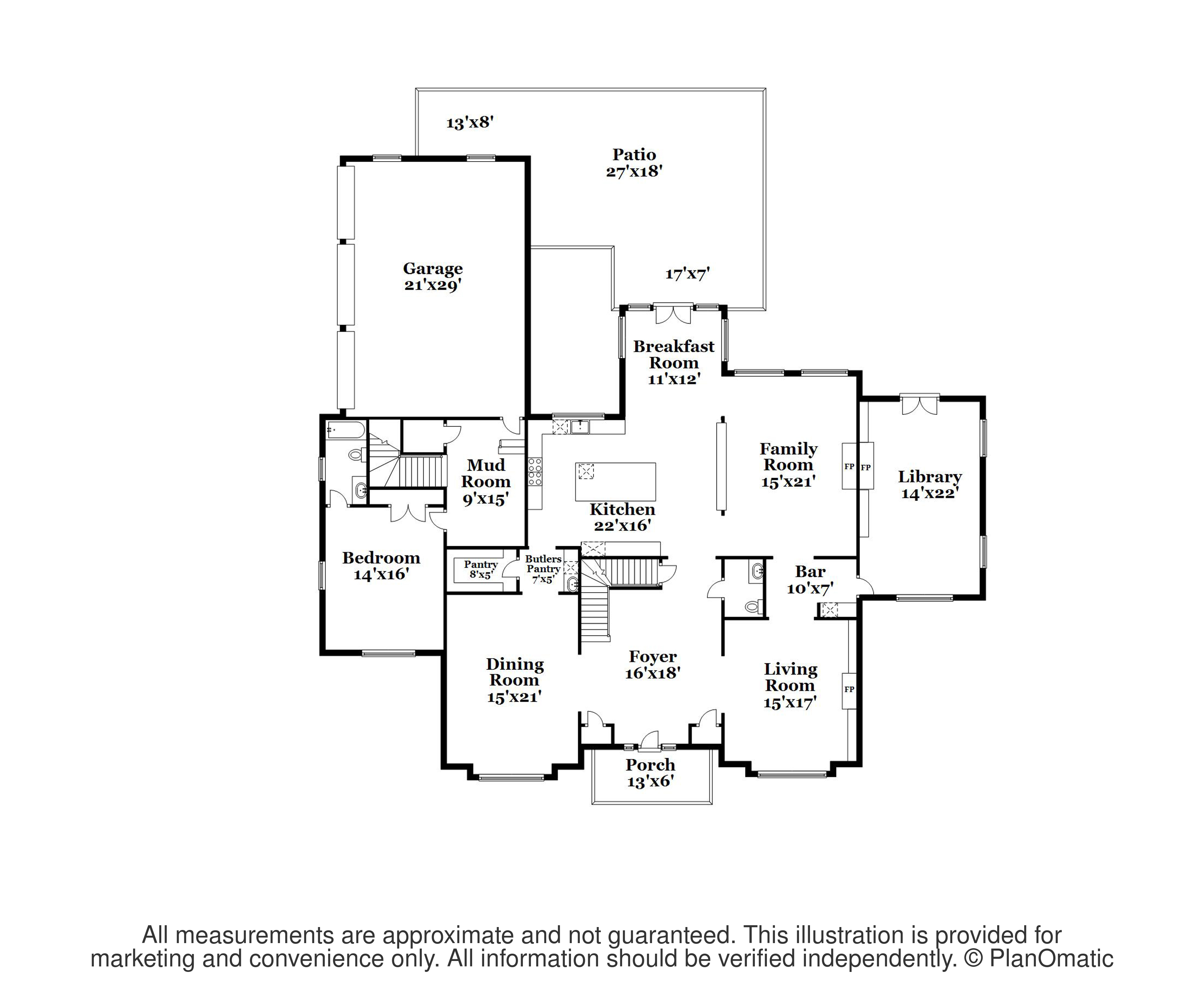Single Family Homes for Sale at Heirloom-Quality Details In Edgerstoune Estate 220 Edgerstoune Road, Princeton, New Jersey 08540 United States