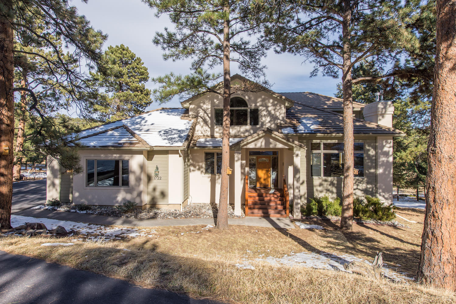 Single Family Home for Sale at Experience Tranquility with this Charming Cul-de-Sac Home 1722 Silver Creek Lane Evergreen, Colorado, 80439 United States