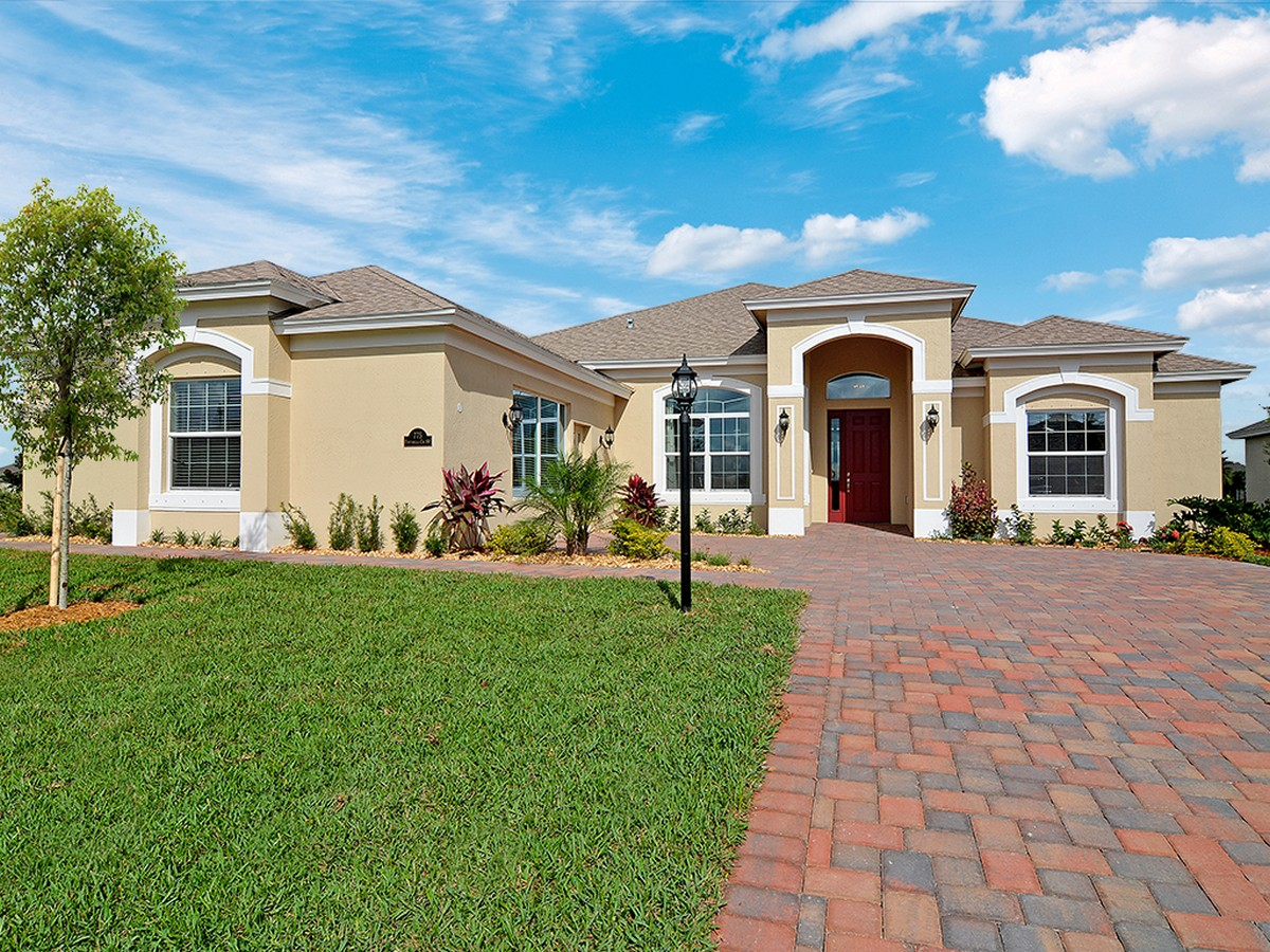Villa per Vendita alle ore Model Home in Citrus Springs 775 Fortunella Circle Vero Beach, Florida, 32968 Stati Uniti