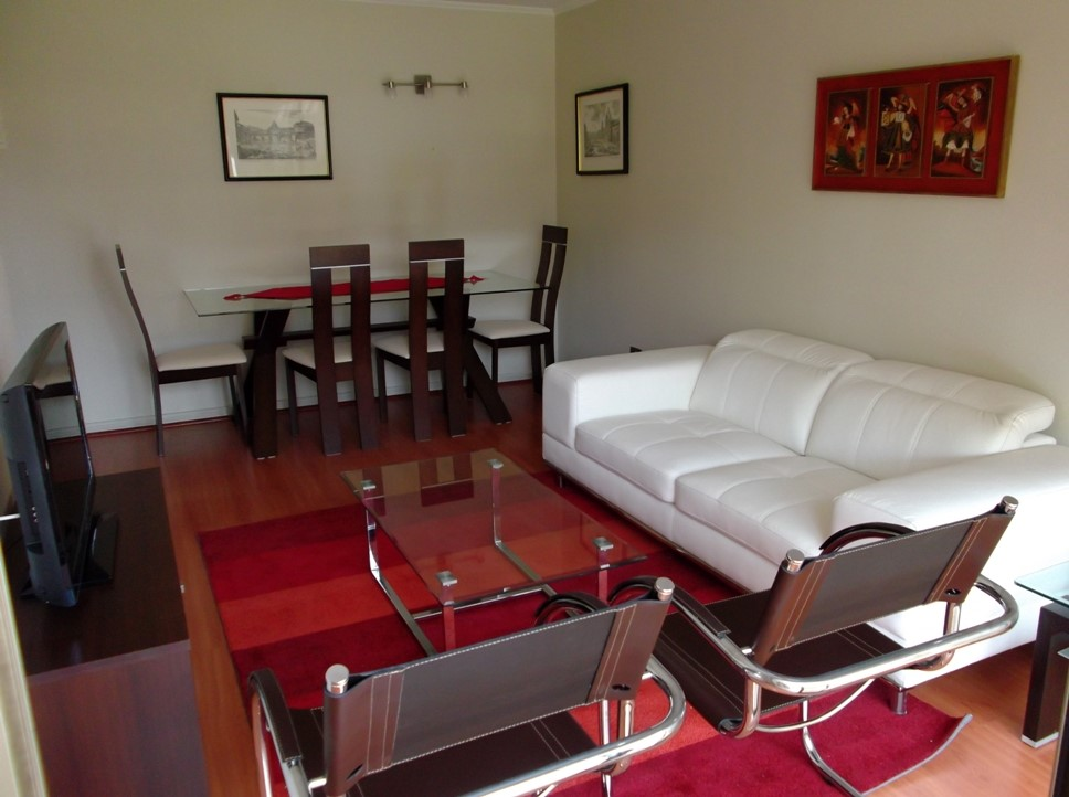 Apartment for Rent at Furnished Apartment in Exclusive and Consolidated Neighborhood Las Condes, Santiago, Region Metropolitana De Santiago Chile