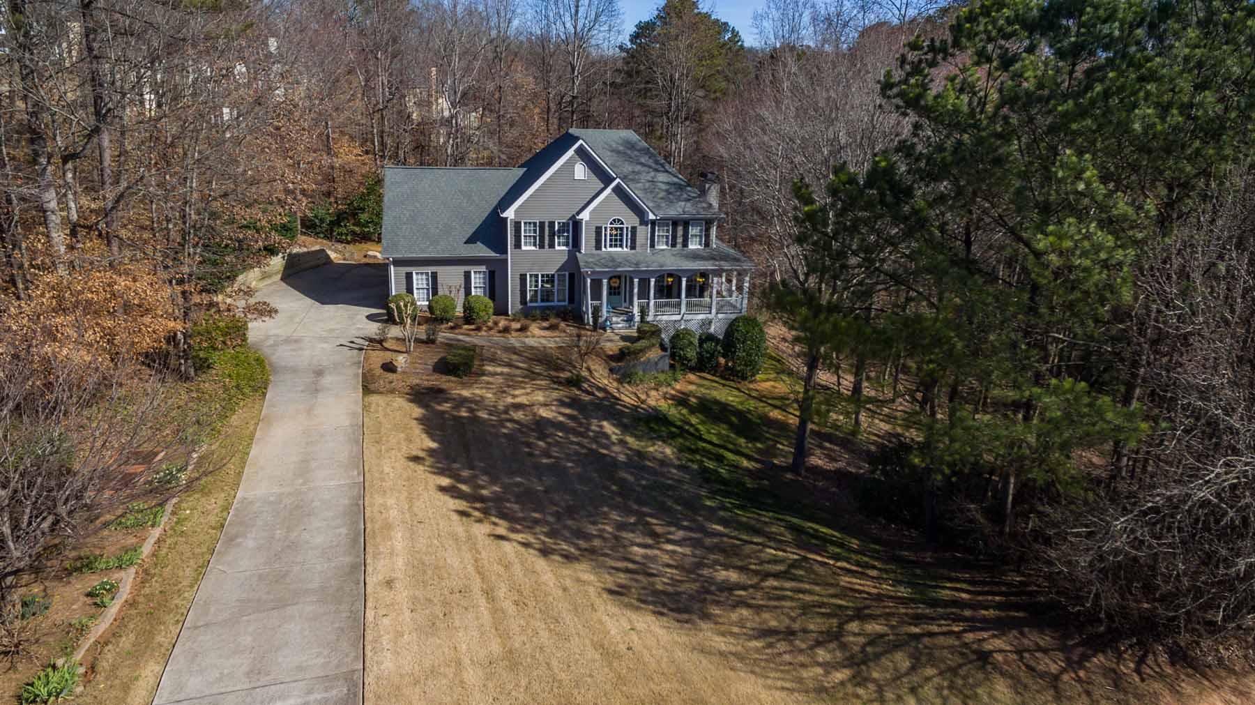 Single Family Home for Sale at Fabulous Farmhouse in South Forsyth 3130 English Oak Drive Cumming, Georgia, 30041 United States