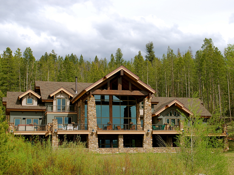 Single Family Home for Sale at Elegant Sawtooth Home 300 Decker View Ln Stanley, Idaho 83278 United States