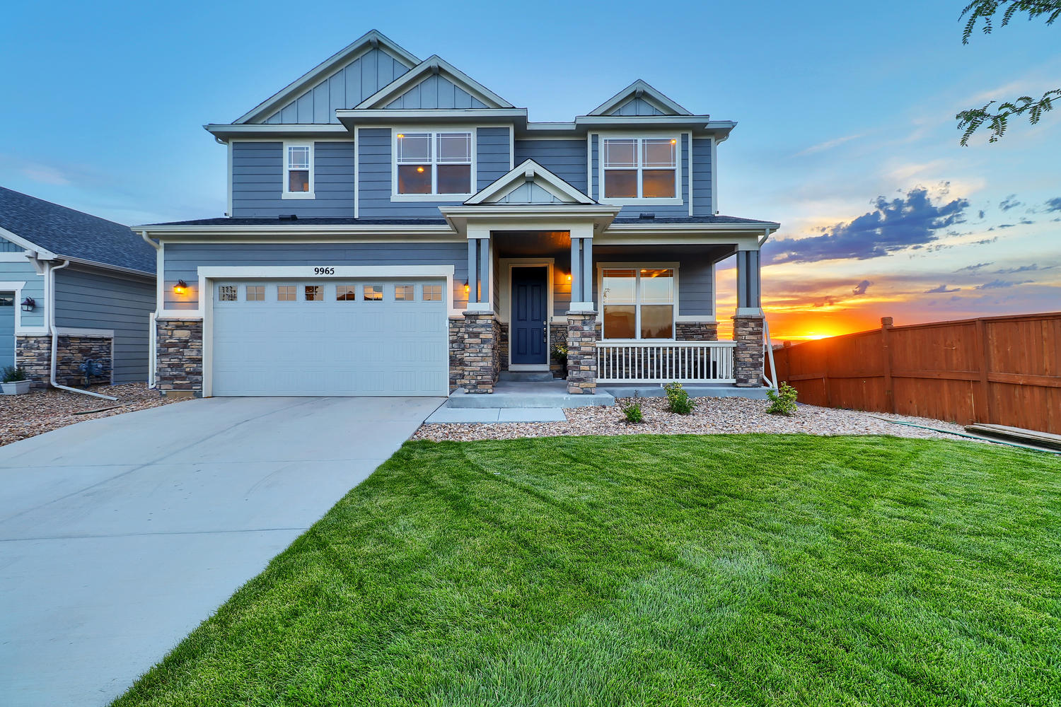 Single Family Home for Active at Overlook spectacular panoramic views 9965 Fort Worth Ct Parker, Colorado 80134 United States