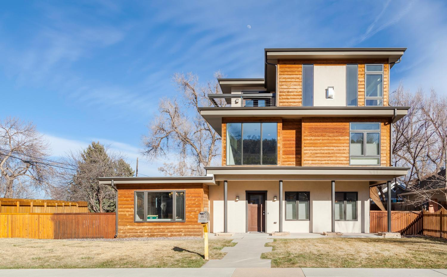 sales property at Contemporary Boulder Home