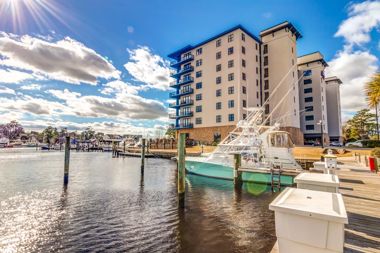 Condominium for Sale at Exceptional Unit in Peletier Creek 4225 Arendell St Unit 402 Morehead City, North Carolina, 28557 United States