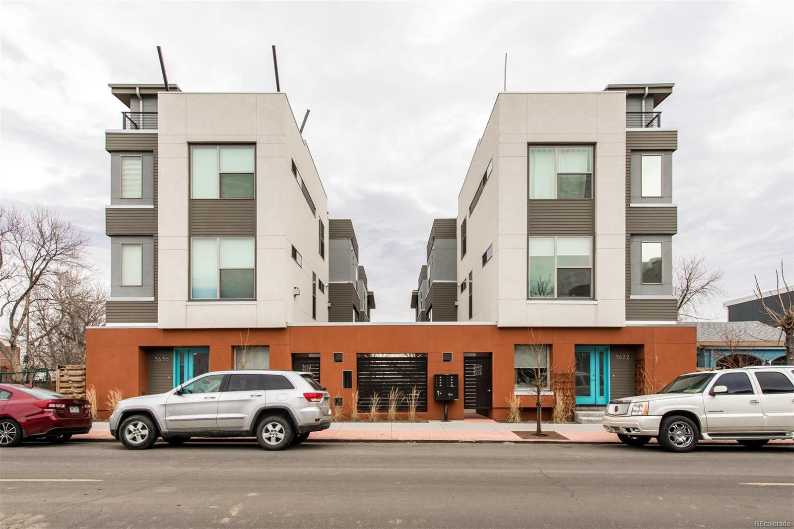 Townhouse for Active at 3632 Navajo Street 3632 Navajo St Denver, Colorado 80211 United States